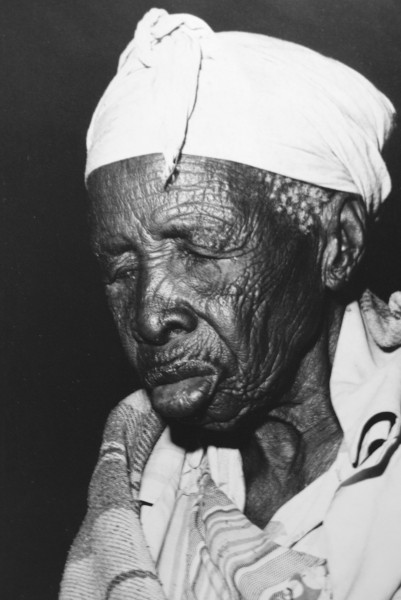 104-year-old Batswana woman. Photo taken by Rex Beam