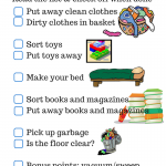 Parenting Checklist: Clean Your Room