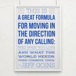 Favourite Quotes from The Art of Work by Jeff Goins