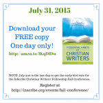 A New Arrival: 7 Essential Habits of Christian Writers