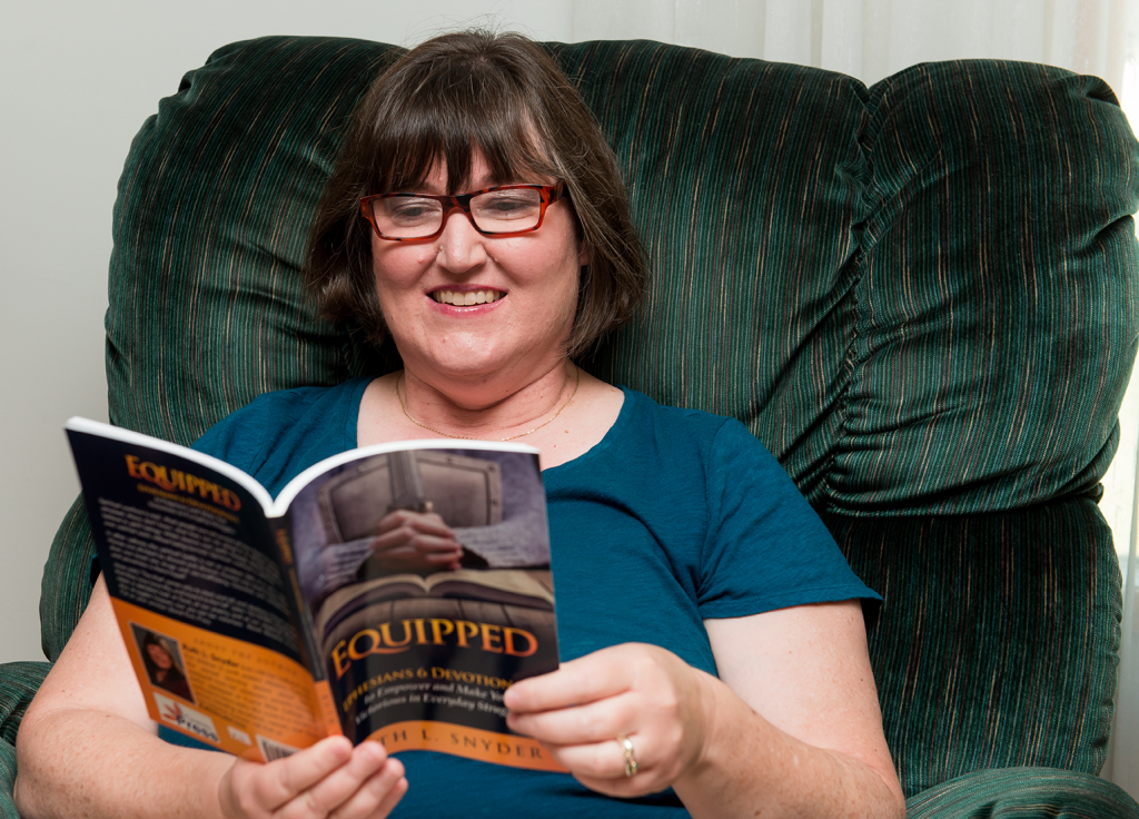Ruth L. Snyder reading Equipped